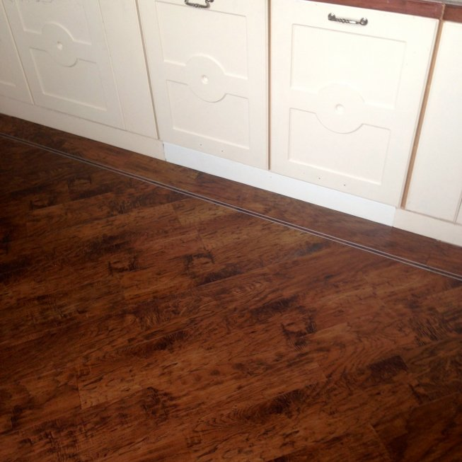 Karndean Kitchen Floor Repair