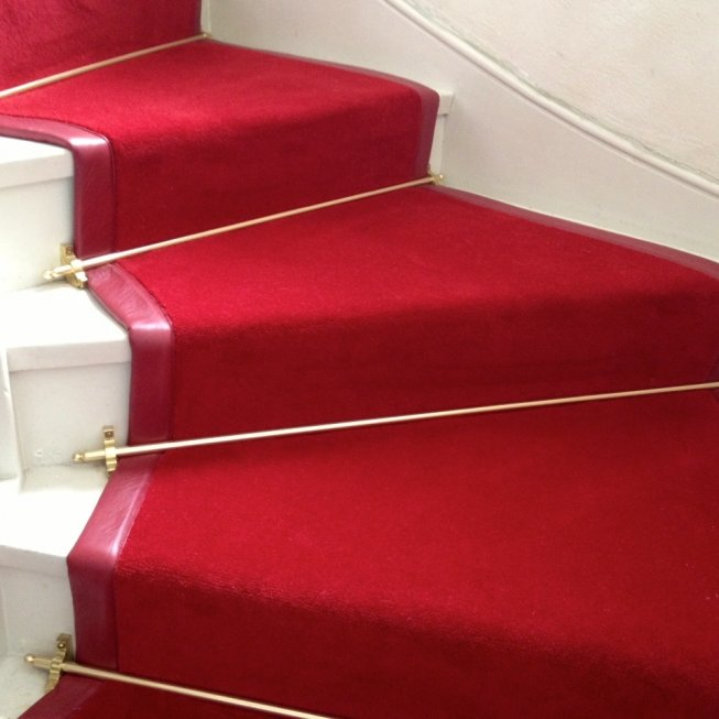 Brushed Brass Stair Rod