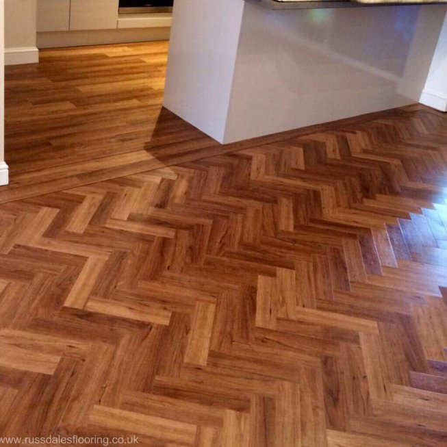 Amtico Signature Colour Teak 12×3″ Tiles
