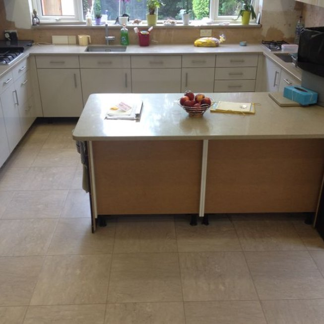 Amtico Tiles – Kitchen