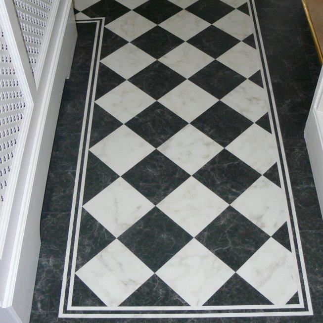 Black & White Tiles