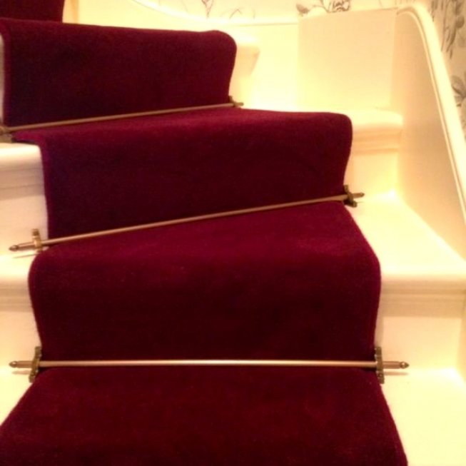 Red Velvet Stair Runner