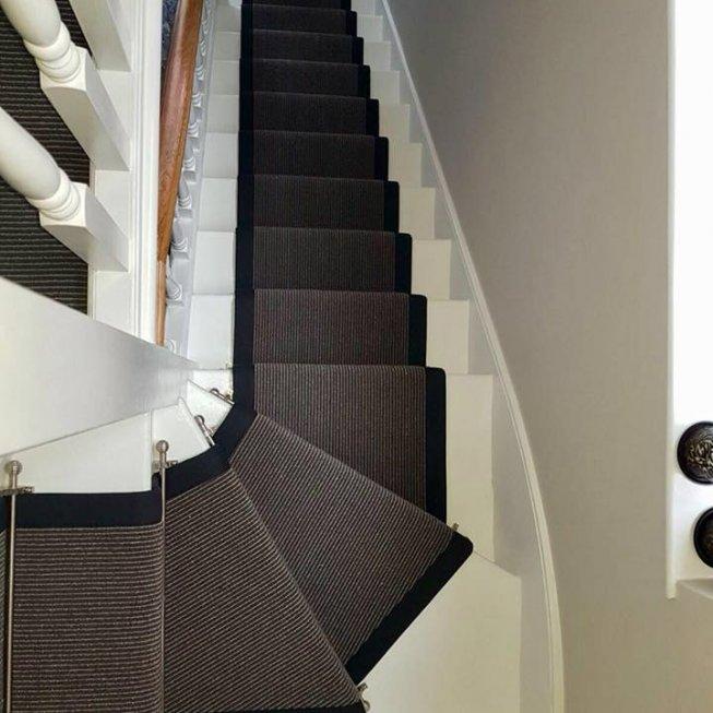 Two Tone Wool Loop Carpet & Runner