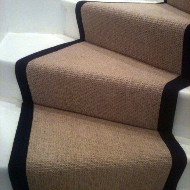 Fabric Edged Stair Runner