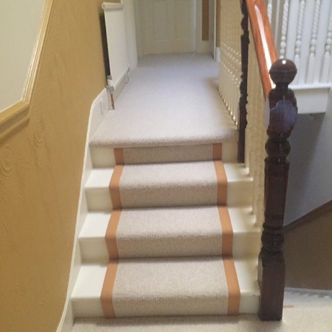 Bespoke Runner with a Choice of Carpet & Edging