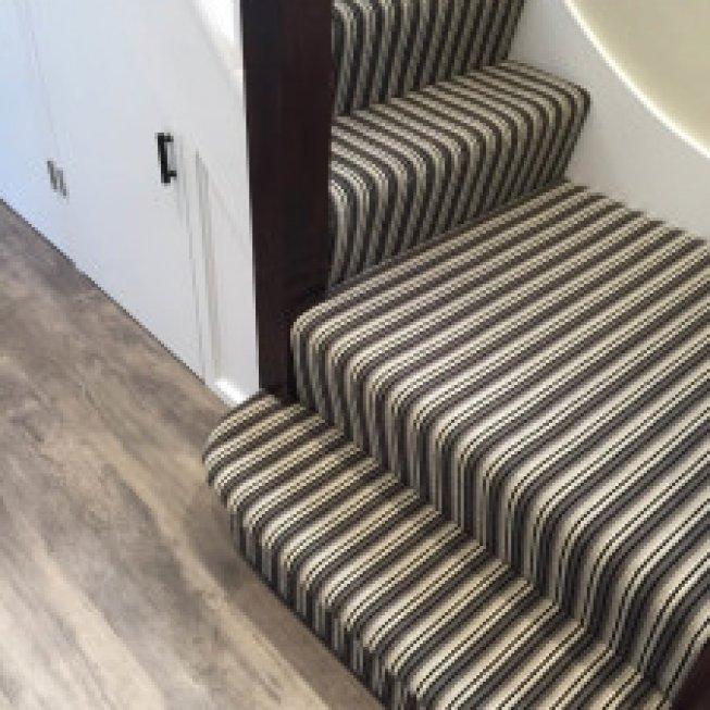 Avebury Stripe Stair Runner