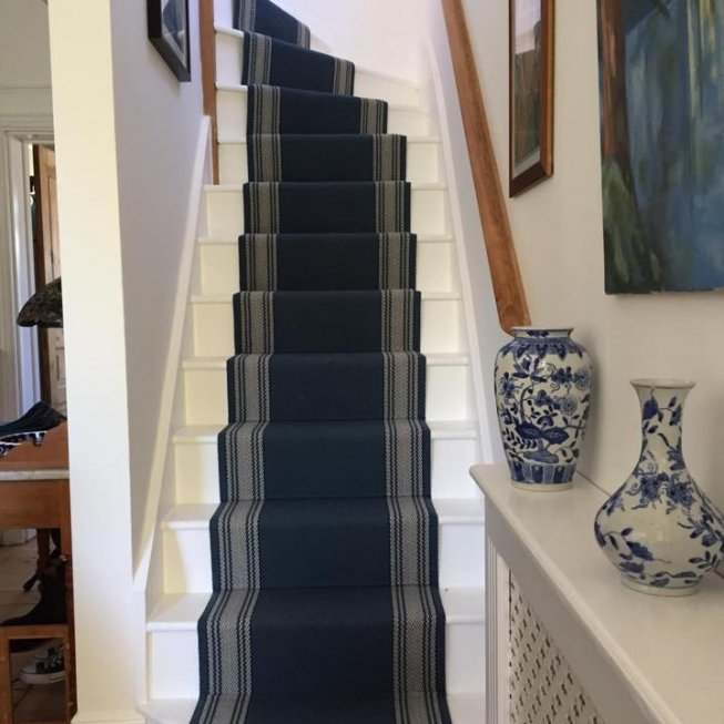 Roger Oates Avon Indigo Stair Runner