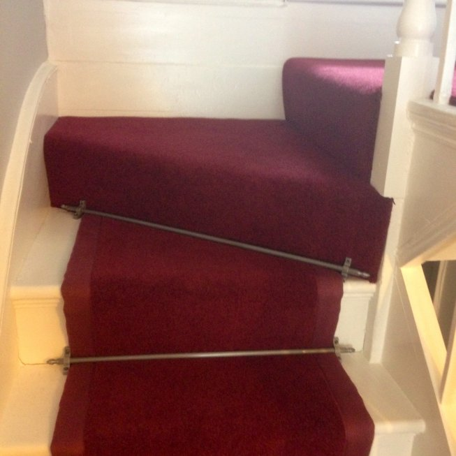 Royal Red Stair Runner