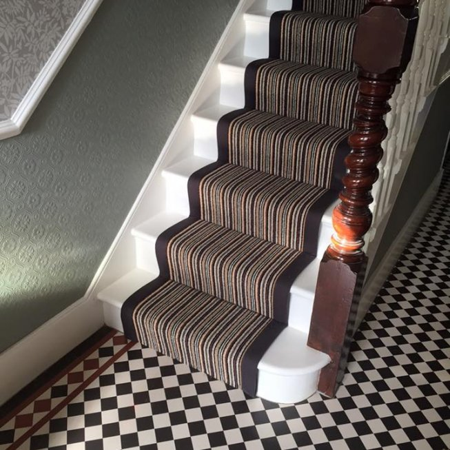 Replacing Carpet With A Stair Runner: RussdalesRussdales Projects Portfolio