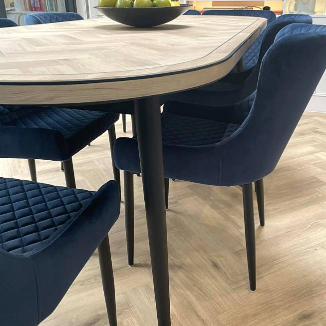 Amtico Cornish Oak Small Herringbone Table Top